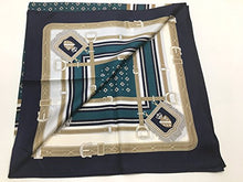 Load image into Gallery viewer, Silk Scarf, ST889067 Coat of Arms, precision printed, Silk Twill, 35x35in, Brand Cased
