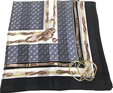 Load image into Gallery viewer, Silk Scarf, SS889066 Riding Bits, precision printed, lightairy satin, Brand Cased