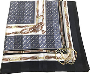 Silk Scarf, SS889066 Riding Bits, precision printed, lightairy satin, Brand Cased