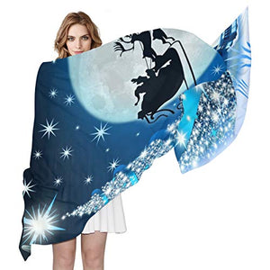 Women Silk Scarf Childhood Dream Jobs Personalized for Women Vacation Winter Decor
