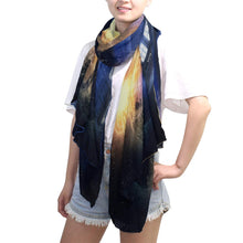 "Load image into Gallery viewer, SLHFPX Scarf Golden Retriever Cat Ladies Thin Shawl Wrap Girls Chiffon Scarves 6 x 3 ft/71"" x 35"""