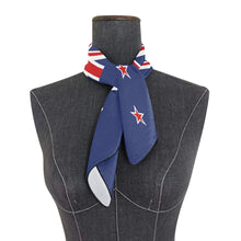 Load image into Gallery viewer, World National Flag Woman Chiffon Scarf Square Soft Wrap Shawl Silk Neckerchief