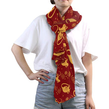 Load image into Gallery viewer, Golden Rat Women Silk Scarf Fashion Print Shawl Head Wraps