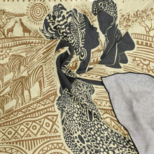 Load image into Gallery viewer, Silk Scarf African Woman And Her Baby Square Headscarf 23 x 23 inches for Women/Girls
