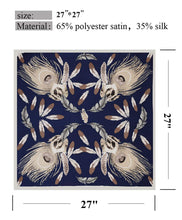 Load image into Gallery viewer, 2 Packs Luxury Satin Silk Hair Scarf For Women, 30-Days Money Guarantee Back