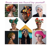 Load image into Gallery viewer, 24 Colors | Solid Color Head Wrap & Scarf - Stretch Jersey Knit Hair Wrap, Long Turbans