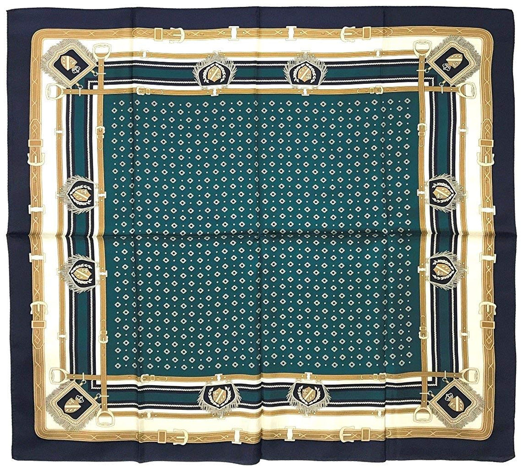 Silk Scarf, ST889067 Coat of Arms, precision printed, Silk Twill, 35x35in, Brand Cased
