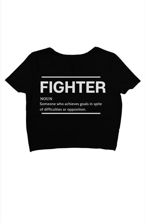 FIGHTER Crop Top