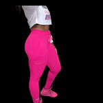 BA Cargo Leggings - Hot Pink