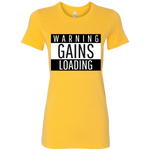 Women's Warning Tee