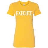 Women's EXECUTE Tee (double sided)
