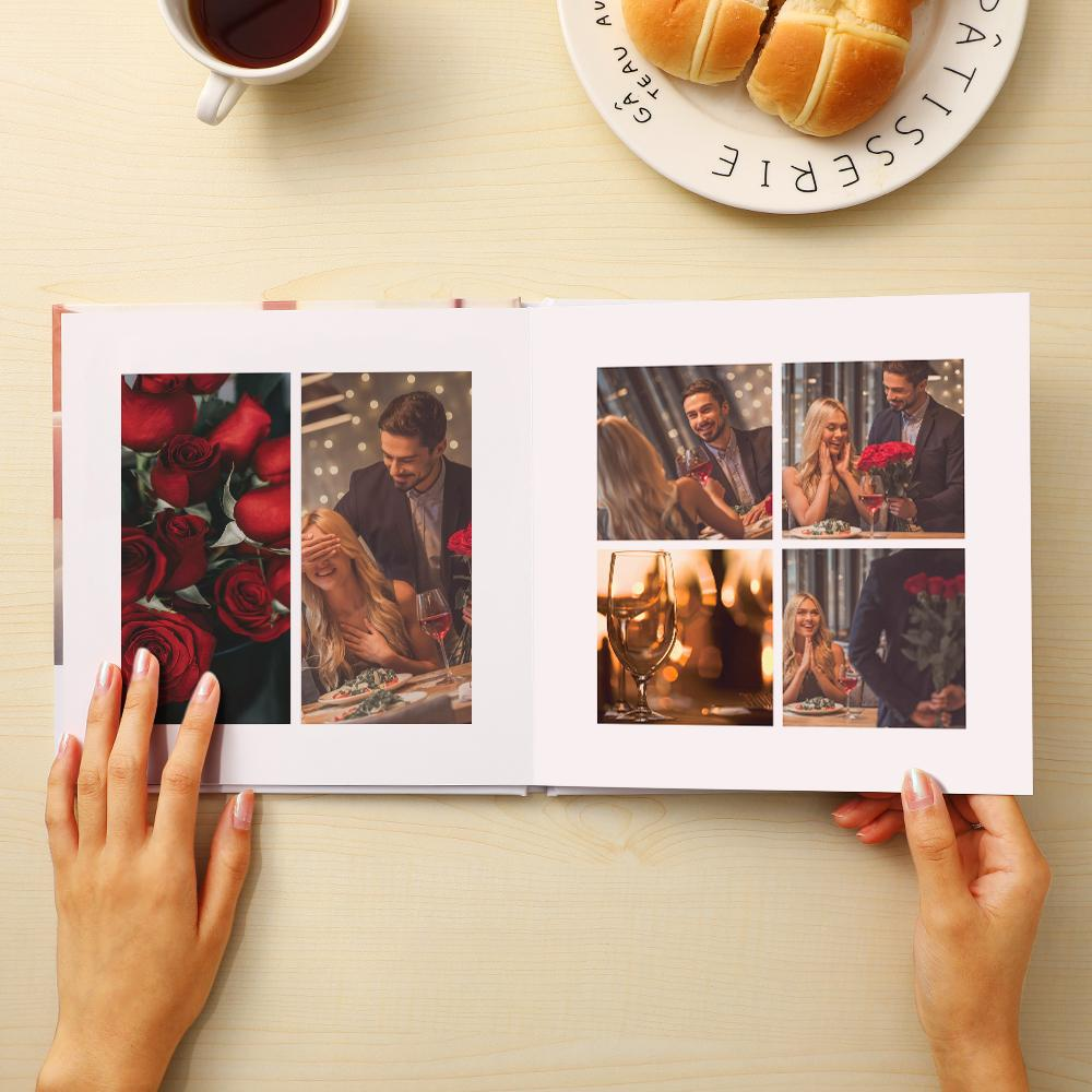 Cutom Girlfriend Mini Photo Book Personalized Gifts-For Lover