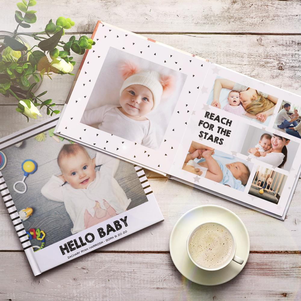 Custom Photo Book Design Baby Online Photo Album for Newborn - 3 Size