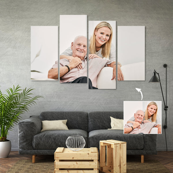For Father's Day Custom Photo Canvas (3 Sizes)