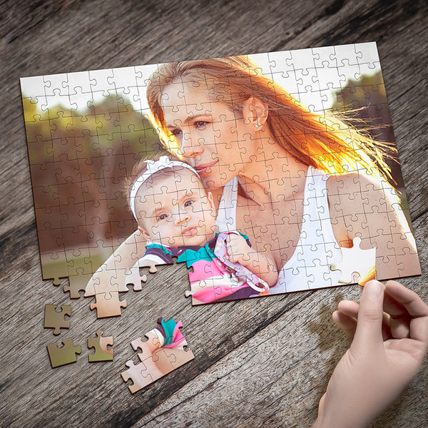 Personalized Photo Puzzle - Mothers Day Photo Jigsaws Gift