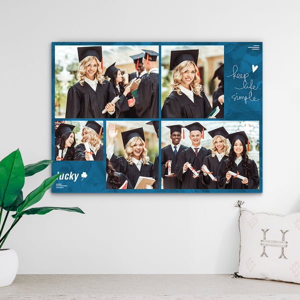 Custom Photo Print - 2020 Senior gift ideas (Upload 5 Photos)