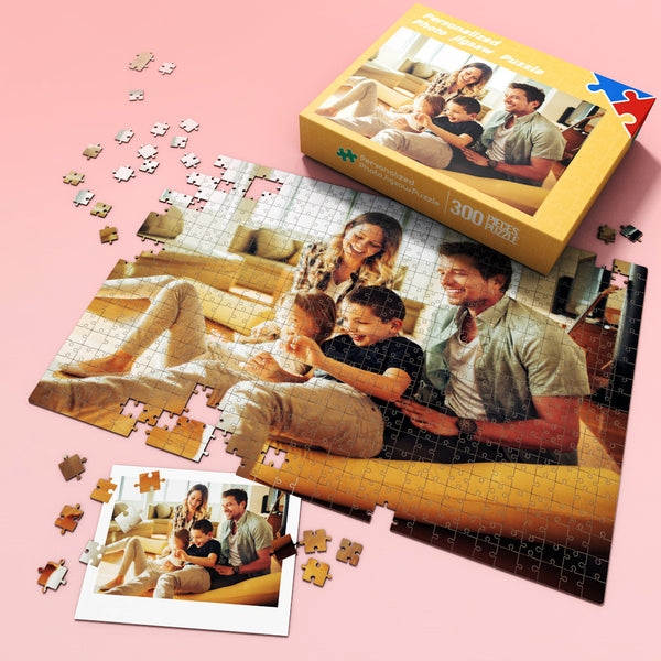 Personalized Photo Puzzle - Happy Father's Day