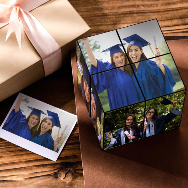 Custom DIY Magic Folding Photo Rubik's Cube | The best graduation gift