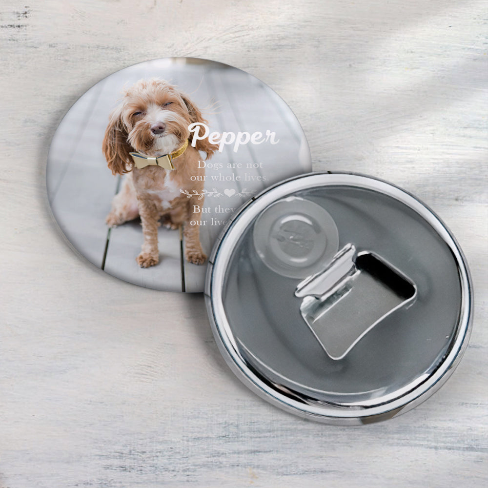 Photo Picture Magnet, personalized Corkscrew