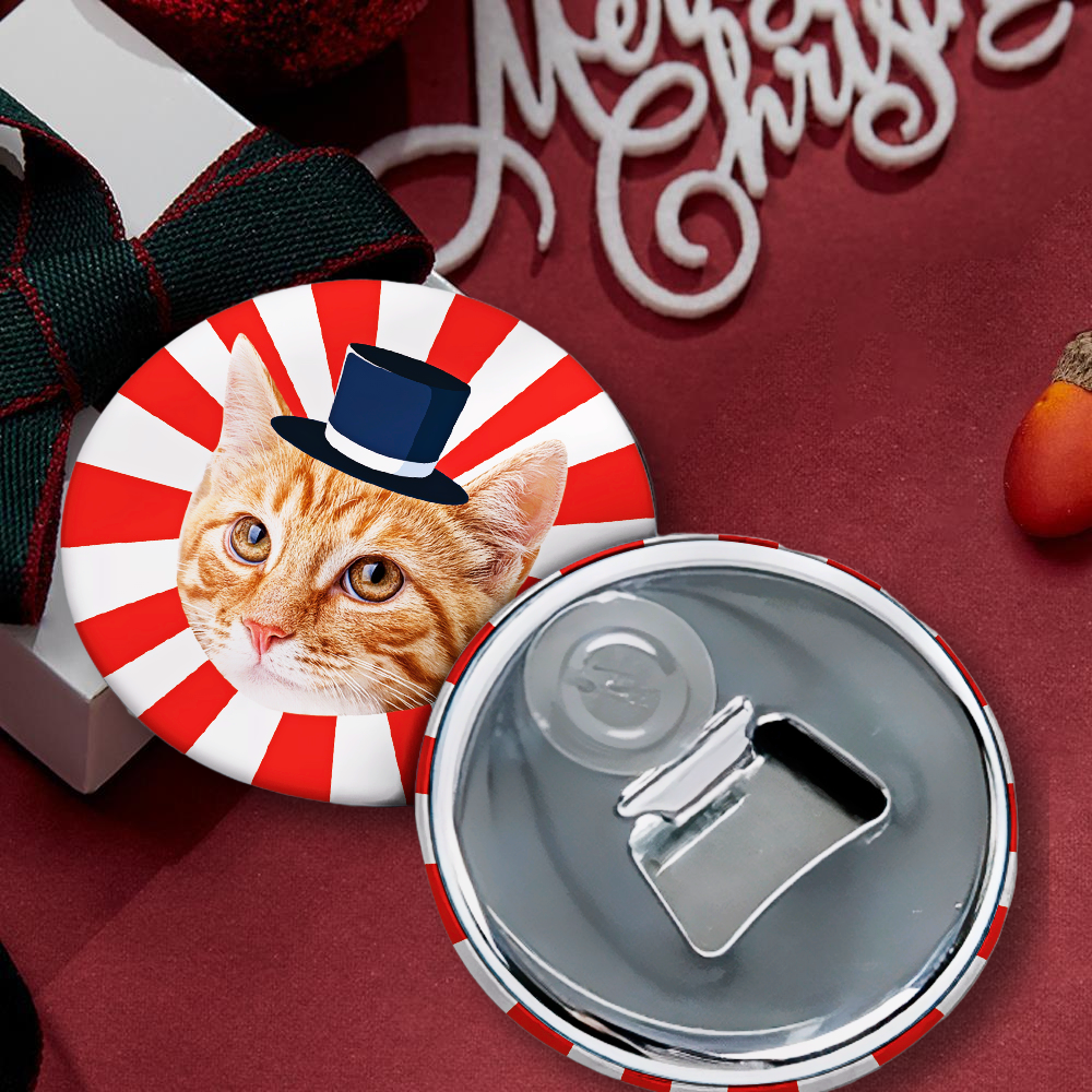 Personalized Refrigerator Magnet Bottle Opener Funny Pet