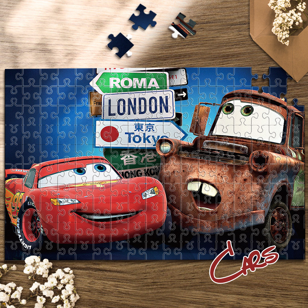 Wonderful Gift - Jigsaw Puzzle Disney Cars Story 35-1000 pcs