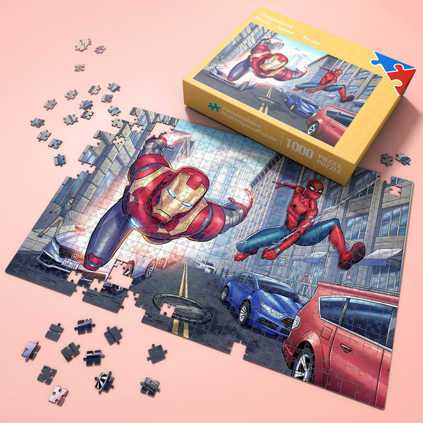 Wonderful Gift - Jigsaw Puzzle Disney Marvel Spiderman 35-1000 pcs