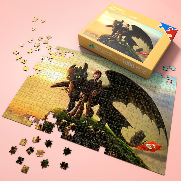 Wonderful Gift - Jigsaw Puzzle Disney Dragon Story 35-1000 pcs