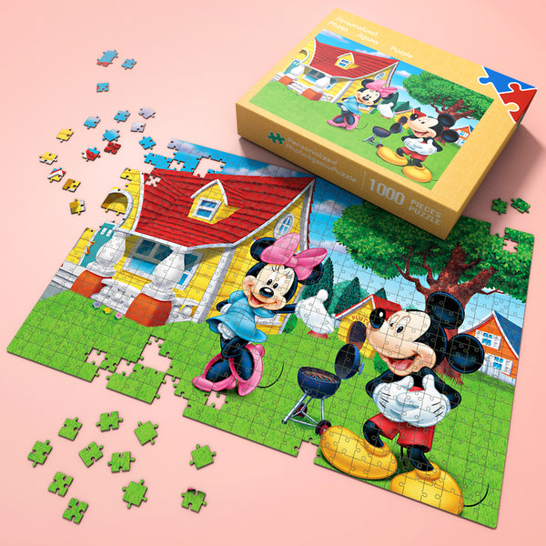 Wonderful Gift - Jigsaw Puzzle Disney Minnie & Mickey Story 35-1000 pcs