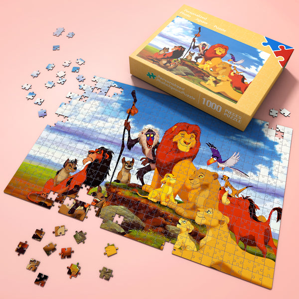 Wonderful Gift - Jigsaw Puzzle Disney Lion King Simba 35-1000 pcs