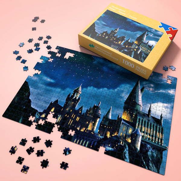 Wonderful Gift - Jigsaw Puzzle  Harry Potter Castle 35-1000 pcs