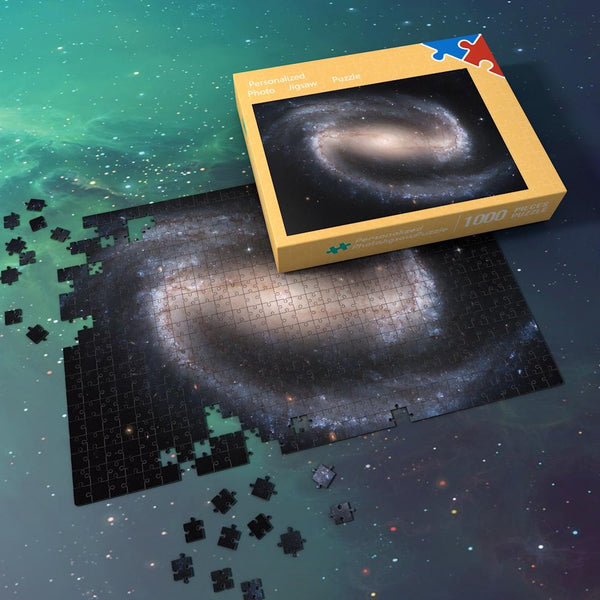 Space Jigsaw Puzzle Universe 1000 Pieces For Adults And Kids - Milky Way Galaxy