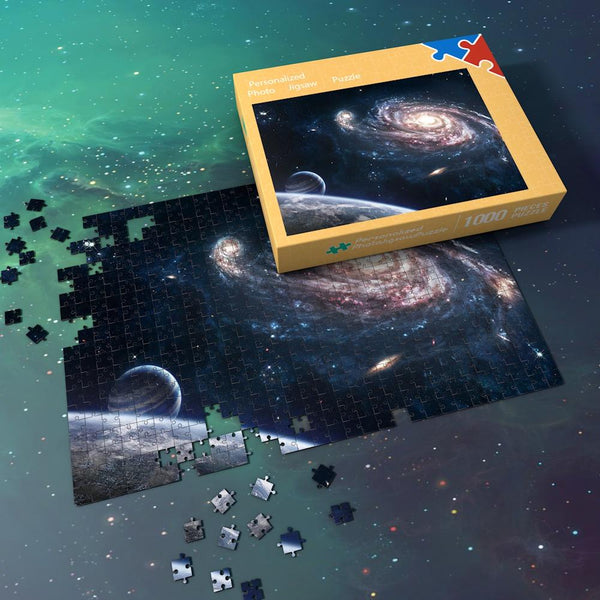 Space Jigsaw Puzzle Universe 1000 Pieces Best Gifts For Family - Mysterious Milky Way Galaxy