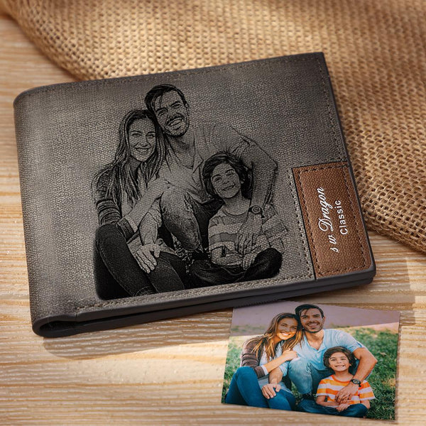 Custom Photo Wallet | Photo & Text Wallet