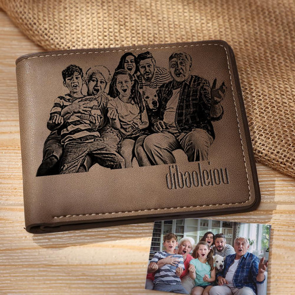 Custom Photo Wallet | Personalized Pet's Bifold Wallet