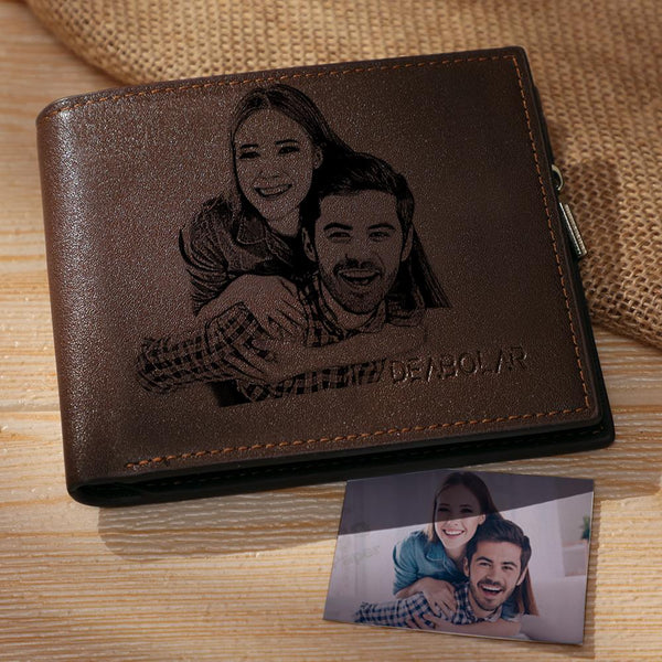 Custom Photo Wallet | Personalized Dog's Bifold Wallet
