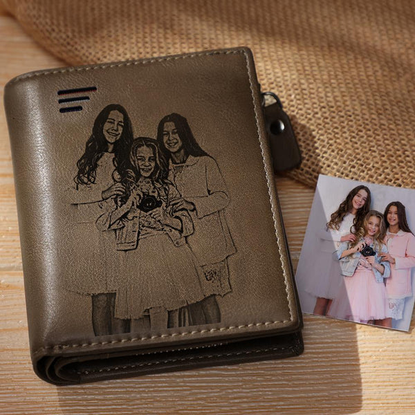 Custom Photo Wallet | Birthday/Anniversary/Christmas Gifts