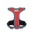 Pet Harness with Leash Nylon Harness Red