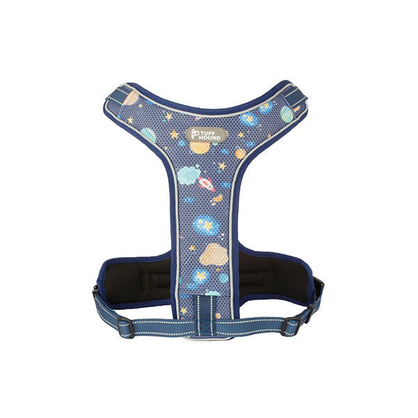 Pet Harness with Leash Nylon Harness Blue