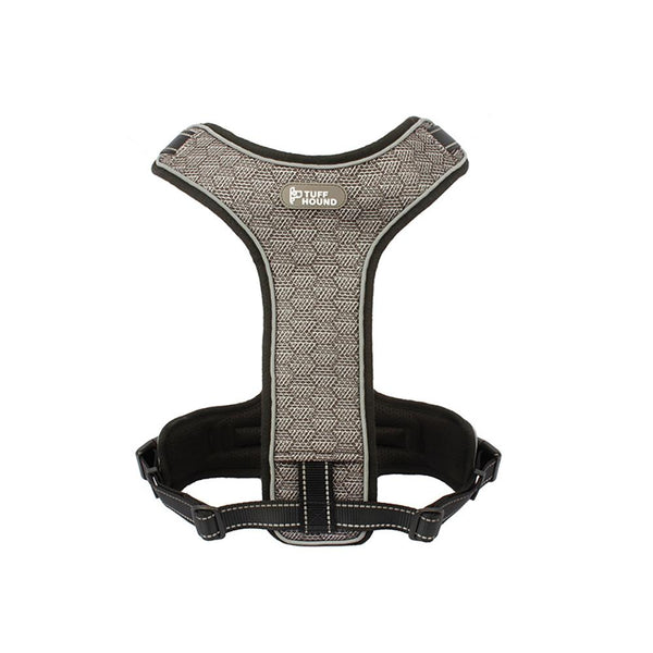 Pet Harness with Leash Nylon Harness Black