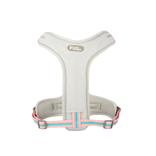 Pet Harness with Leash Nylon Harness Pink