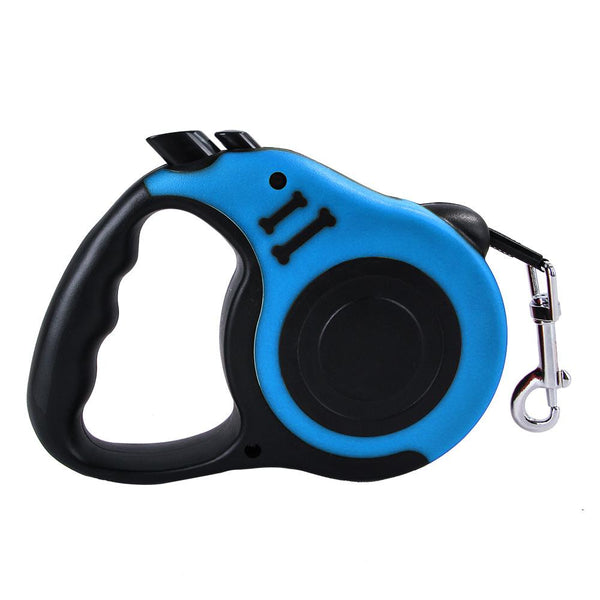 High Quality Durable Automatic Retractable Pet Leash for Large/Small Dog & Cat Blue