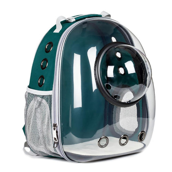 Pet Carrier Backpack Pet Bag Green