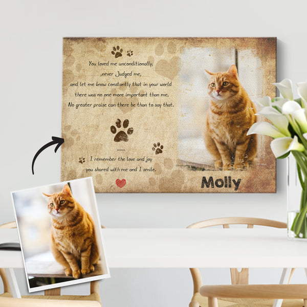 Picture Frame And Pet Name Pet Memorial Gifts