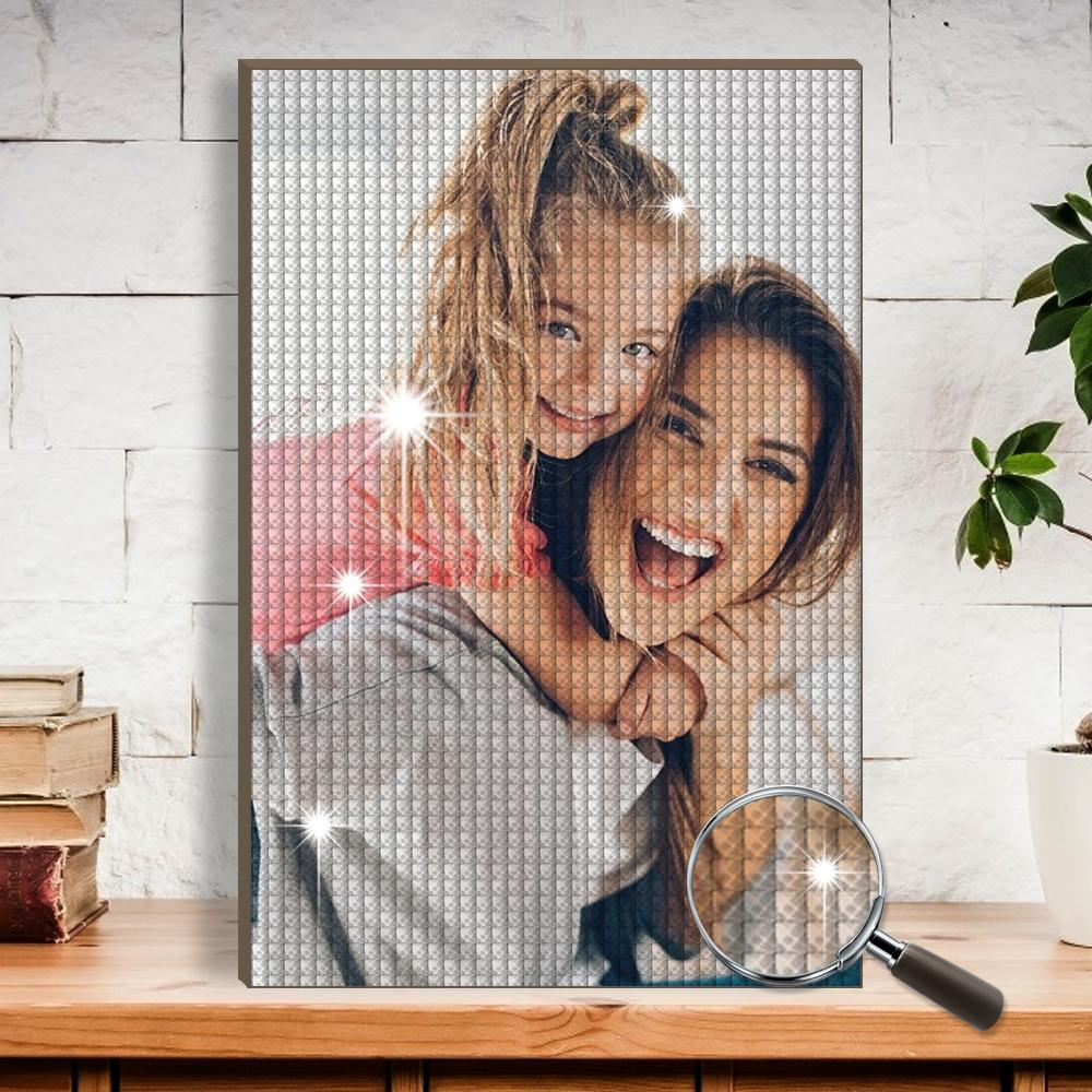 5D Diy Custom Photo Diamond Painting Mother's Day Gift for Mom