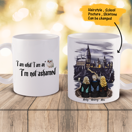 Personalized Best Friends Coffee Mug - We are all harry potter (online design & 3D preview)