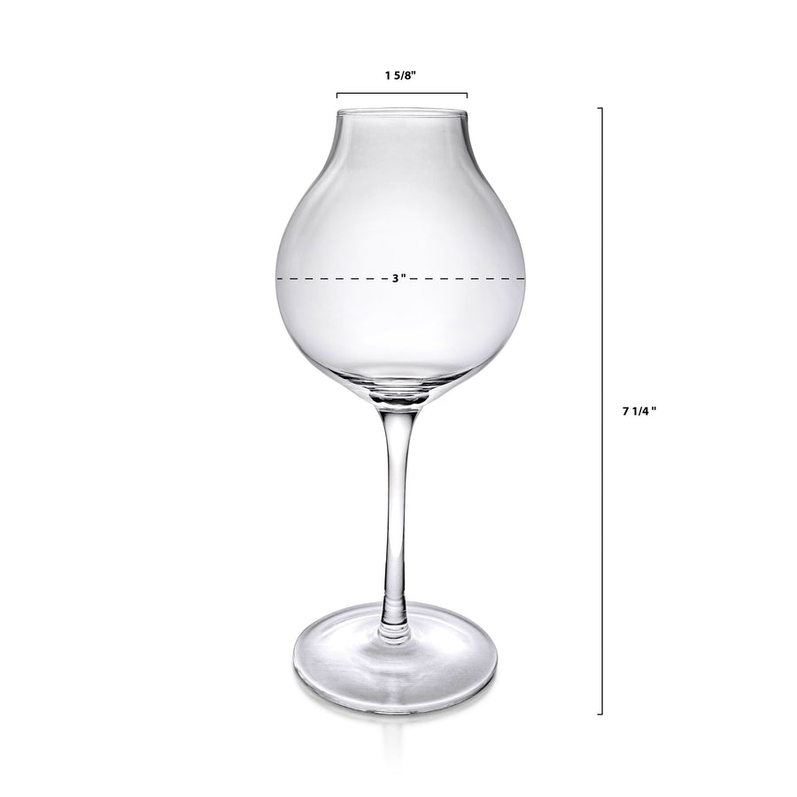 Dimensions of Professional Whisky Glasses. Glass. Wonders of Whisky.