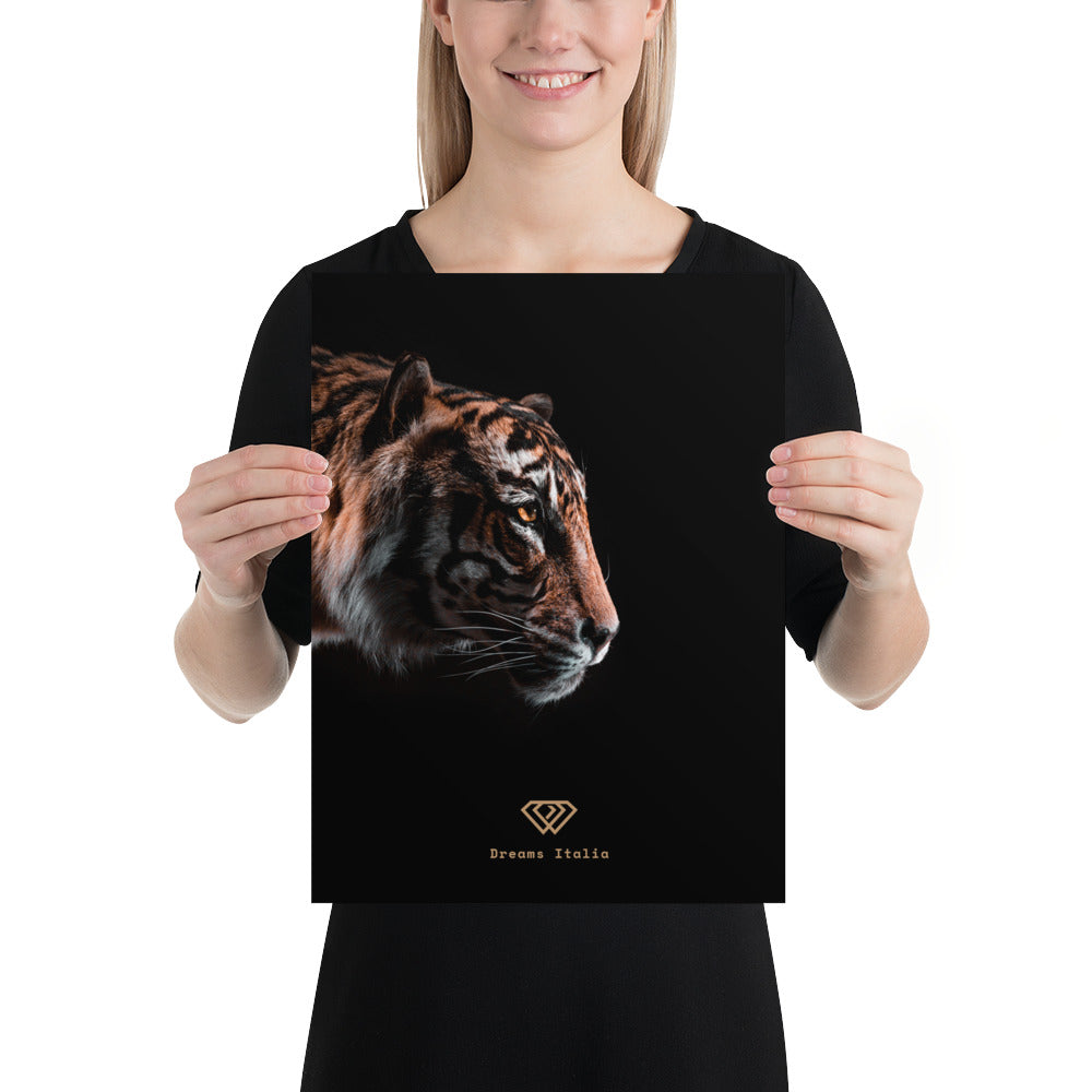 Canvas Poster -Tiger
