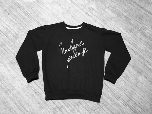 Madame, Please. Crew Neck