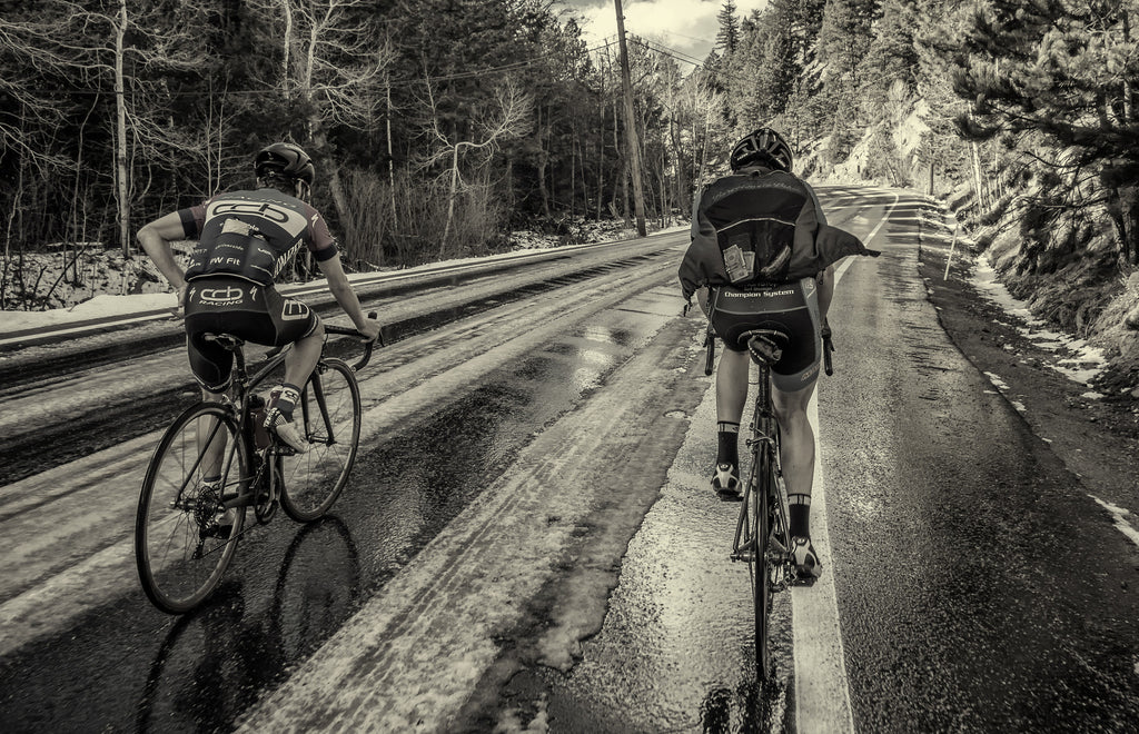 5 Tricks Pro Bike Racers Don't Want You To Know About Riding In Cold, Wet Weather.