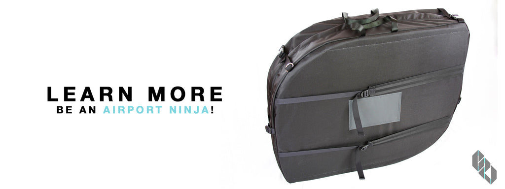 Learn more about the Airport Ninja Bicycle Travel Case